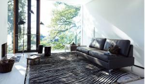COR in Jena mit Möbelklassiker Conseta Ledersofa, Designklassiker